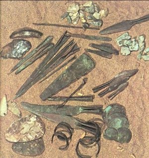 Native Copper Artifacts