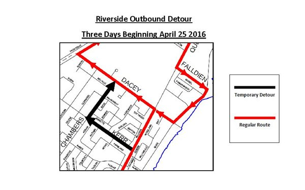 Riverside Outbound Detour