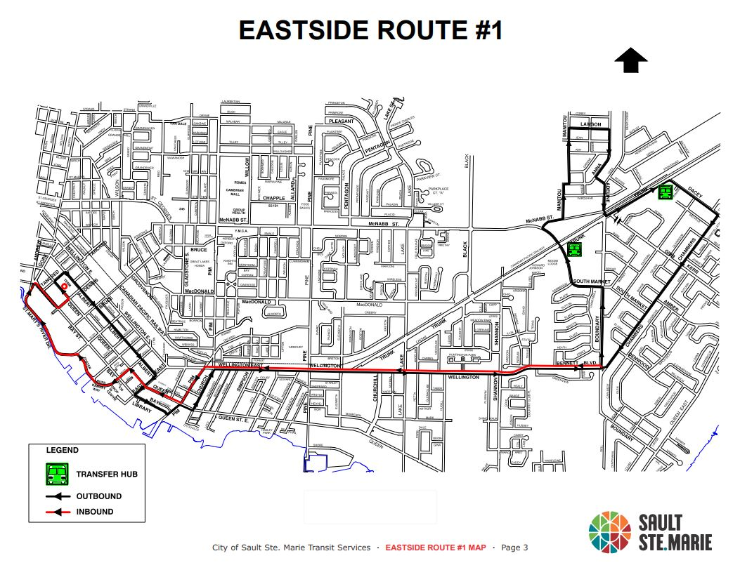 Bus Routes and Schedules - City of Sault Ste  Marie