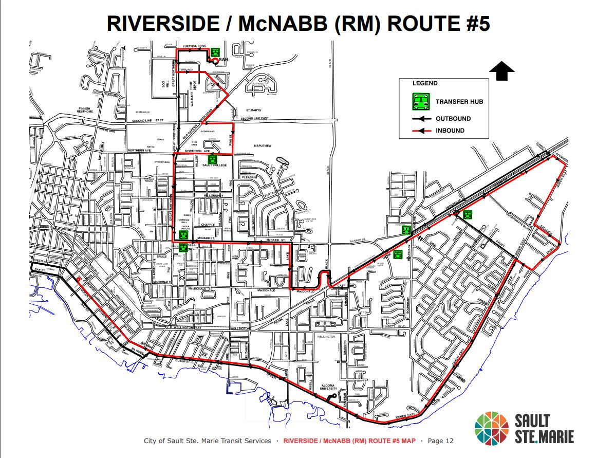 Bus Routes and Schedules - City of Sault Ste. Marie on
